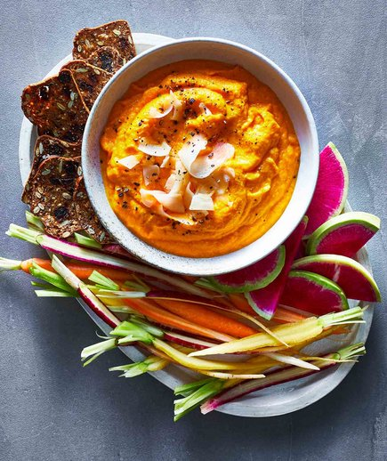 Carrot Ginger Dip (dip image list)