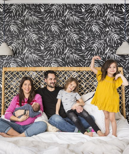 Rebecca Minkoff Bedroom With Family