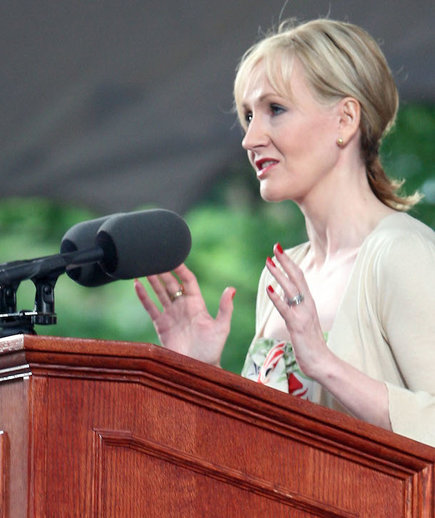 JK Rowling Giving Her Commencement Speech to Harvard's 2008 Class