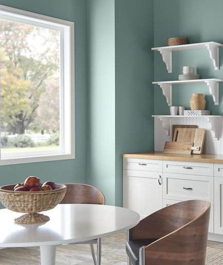 Beau Behr Interior Paint Colors: In The Moment