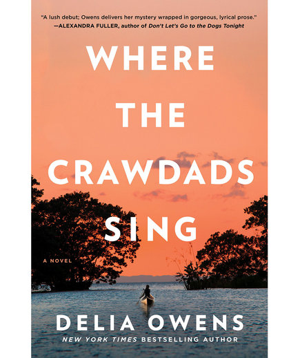 Best Books 2018 Where the Crawdads Sing, by Delia Owens