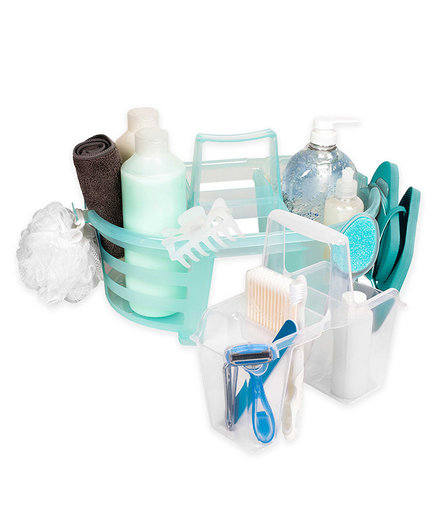 College Packing List Shower Caddy