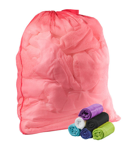 College Packing List Mesh Laundry Bag