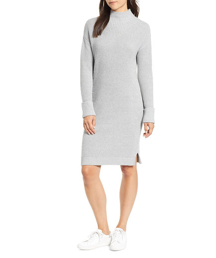 Caslon Ribbed Sweater Dress (Nordstrom Fall Sale)