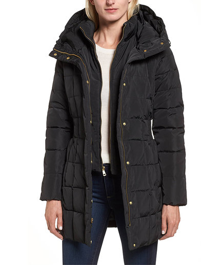 Cole Haan Hooded Down Jacket (Nordstrom Fall Sale)