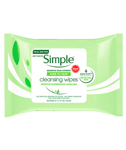 Simple Kind to Skin Cleansing Facial Wipes (1218BDI)