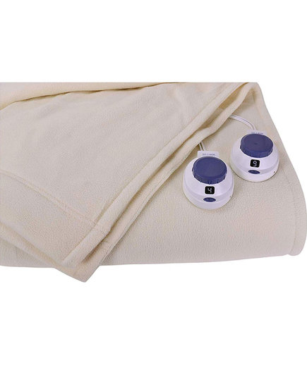 SoftHeat by Perfect Fit Luxury Micro-Fleece Heated Blanket (Amazon Customers Heated Blankets)