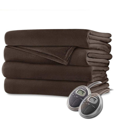 Sunbeam Luxurious Velvet Plush King Heated Blanket (Amazon Customers Heated Blankets)