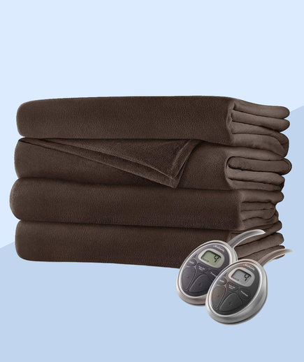 Sunbeam Luxurious Velvet Plush King Heated Blanket