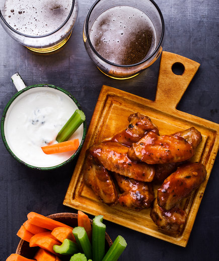 The Best Chicken Wings for Super Bowl Food