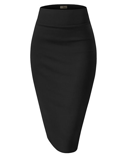 Hybrid & Company Premium Stretch Pencil Skirt