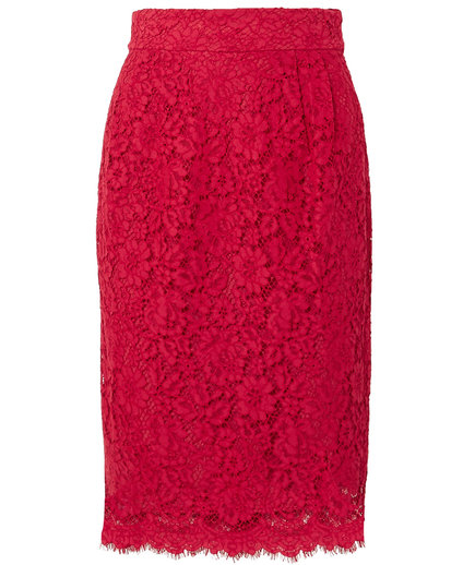 J.Crew Lace Pencil Skirt