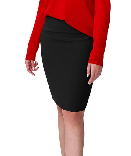 Universal Standard Plus Size Crepe Pencil Skirt