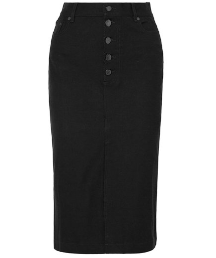 Joseph Denna Stretch Denim Pencil Skirt