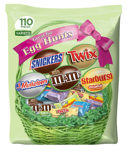 MARS Chocolate and Easter Candy Variety 110-Piece Mix Bag
