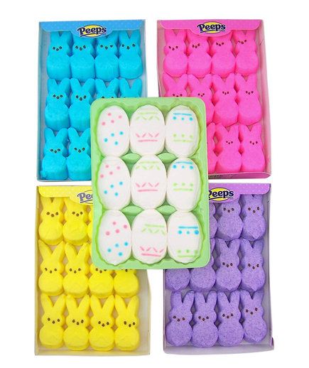 Peeps Marshmallow Candy Bunnies Variety Five Pack