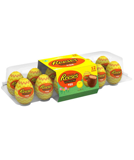 Reese's Easter Peanut Butter Creme Eggs Candy 12 Count