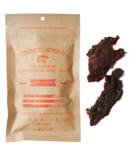 Three Jerks Jerky The Original Filet Mignon Beef Jerky