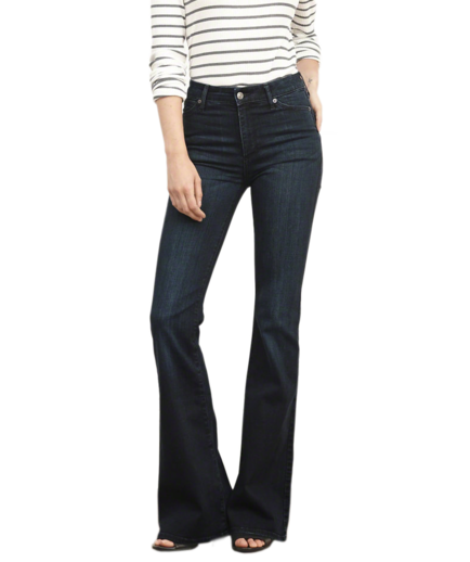 Abercrombie & Fitch High Rise Flare Jeans