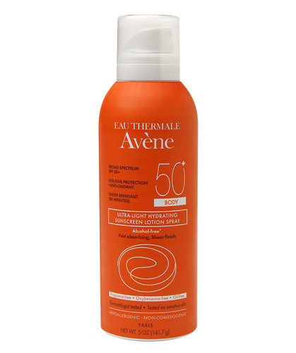 Avène Ultra-Light Hydrating Sunscreen Lotion Spray SPF 50+