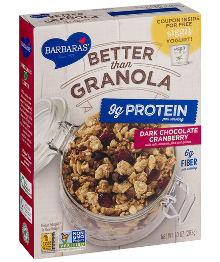Barbara's Better Than Granola Dark Chocolate Cranberry