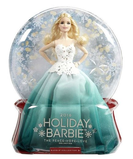 Holiday Barbie 2016
