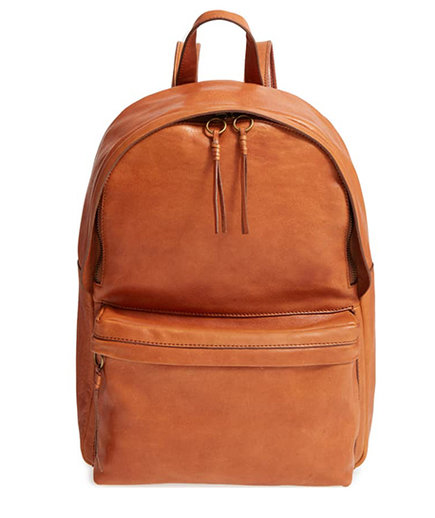 Best Leather Backpack: Madewell Lorimer Leather Backpack