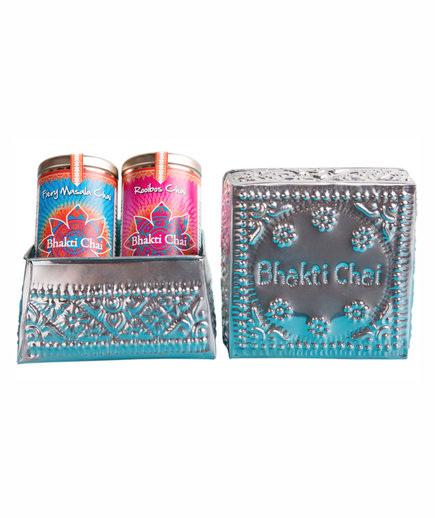 Bhakti Chai Artisan Tea & Decorative Box Set