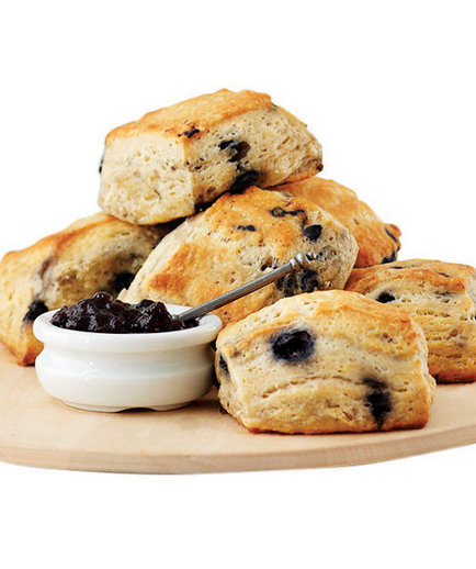 Blueberry Cream Cheese Biscuits