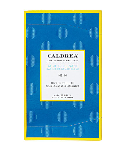 Caldrea Basil Blue Sage Dryer Sheets (Top Picks From a Laundry Pro)