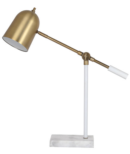 Cantilever LED Task Lamp With Marble Base - Threshold™
