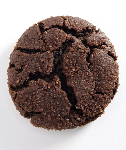 Cocoa-Molasses Cookies