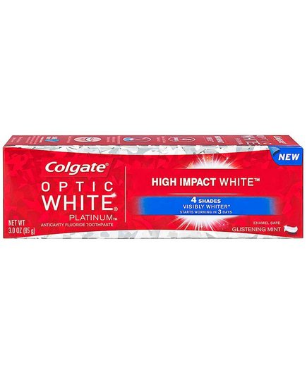 Colgate Optic White Platinum High Impact White Toothpaste