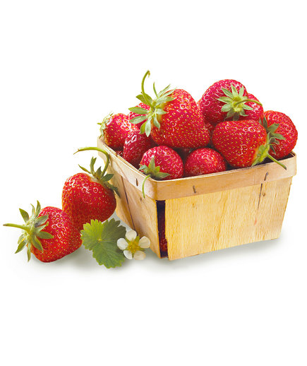 Container of Strawberries