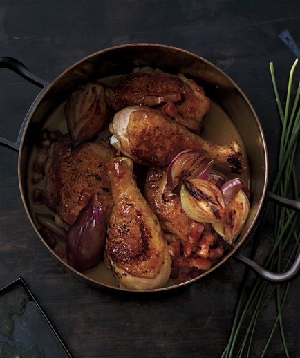 Classic Coq au Vin (10 Hacks to Free Up Oven Space for Christmas Dinner)