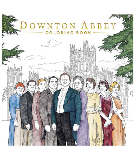 Downton Abbey Adult Coloring Book