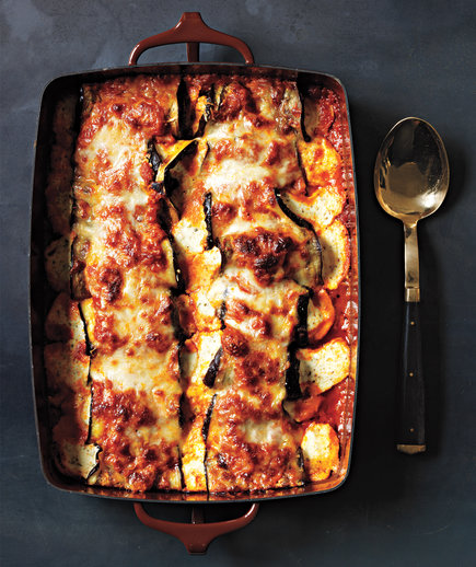 Eggplant Parmesan Rollatini, one of RS's great eggplant recipes