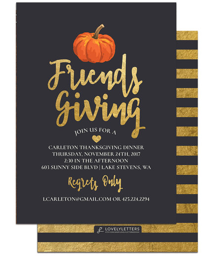 friendsgiving ideas 2017 food decorations and games