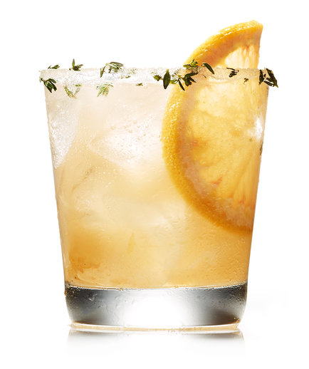 Gin, Grapefruit, and Thyme Cocktail