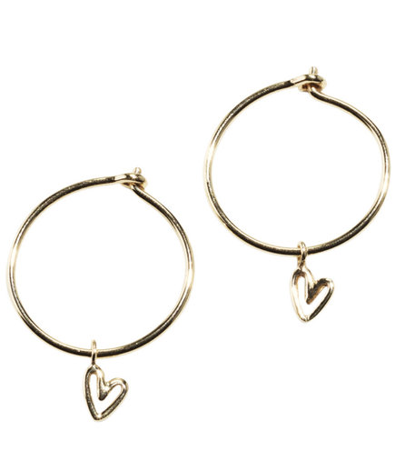 & Other Stories Gold-Plated Sterling Silver Mini Hoops (7 Pretty, Dainty Earrings)