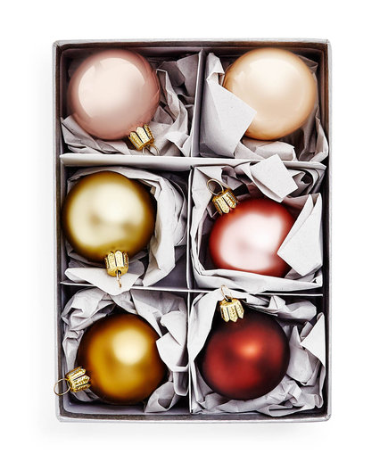 Gold Spectrum Ornament Set