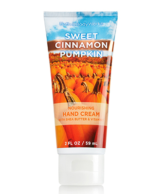 Bath & Body Works Sweet Cinnamon Pumpkin Nourishing Hand Cream