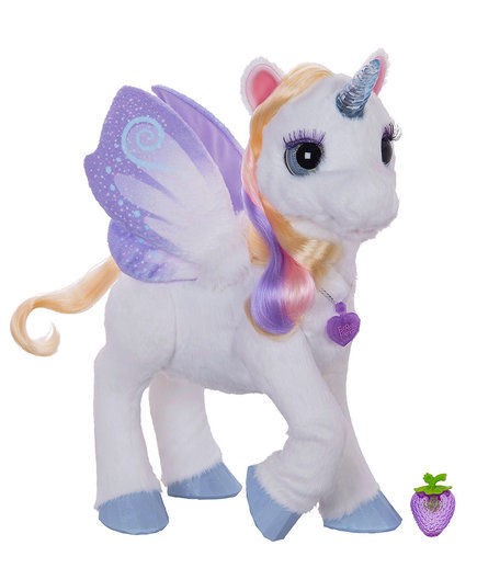 Hasbro FurReal Friends Fantasy Collection StarLily, My Magical Unicorn Pet