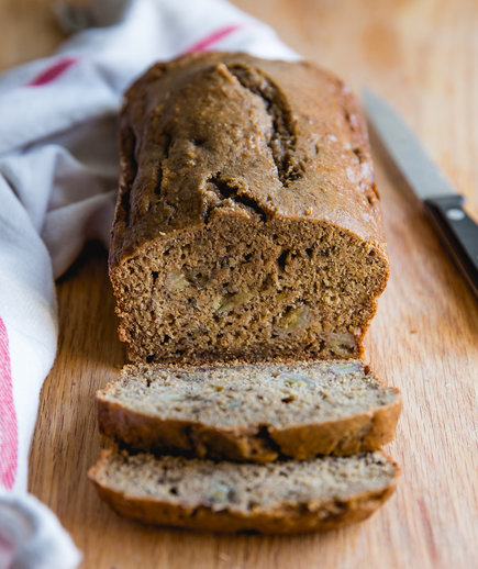 Quick Breads Healthy Banana Bread