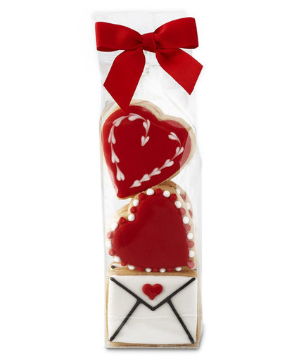 Williams Sonoma Heart and Letter Cookies