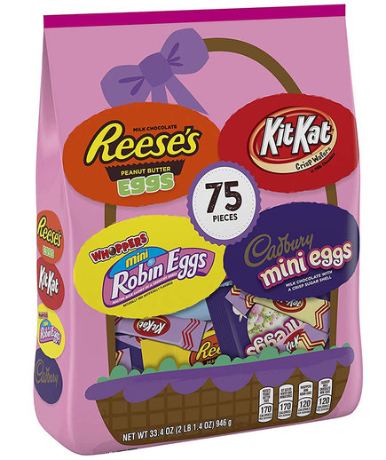 Hershey Easter Egg Hunt Assortment 75 Count
