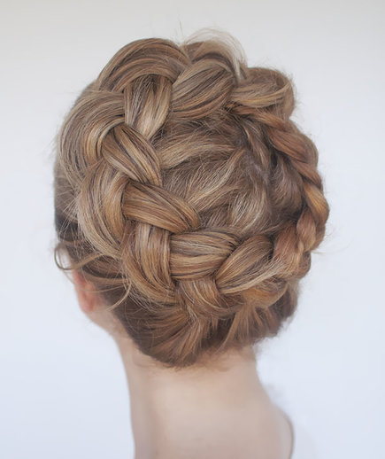 High Braided Crown