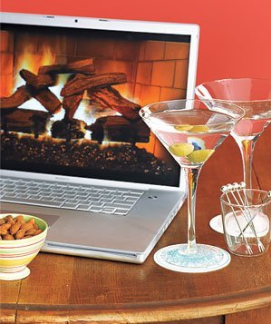 Plasmavironments fireplace DVD