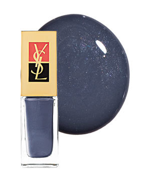Yves Saint Laurent No. 39 in Stormy Grey nail polish