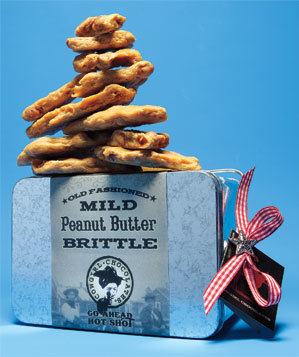 Cowgirl Chocolates Peanut-Butter Brittle